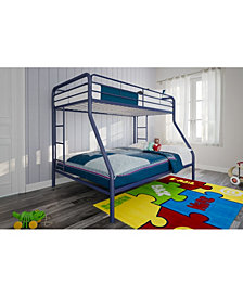 EveryRoom Cassia Twin over Full Metal Bunk Bed
