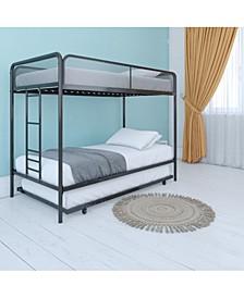 Elia Triple Twin Metal Bunk Bed