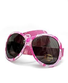 Retro Baby Girls Wrap Around Sunglasses