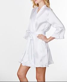 Wedding Prep Gals Plain Ruffle Robe, Online Only