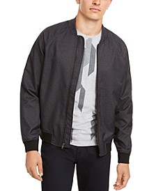 Men's Deep Twill Bomber Jacket, Created for Macy's