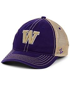 Washington Huskies Crosswind Mesh Snapback Cap