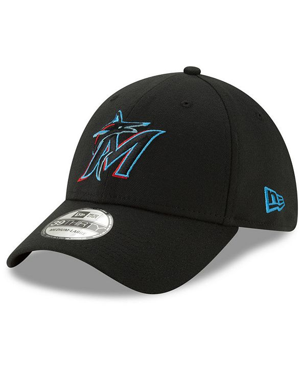New Era Miami Marlins Team Classic 39THIRTY Stretch Fitted Cap