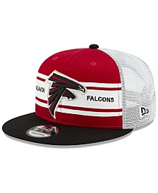 New Era Atlanta Falcons Classic 77 Stripe Mesh 9FIFTY Cap