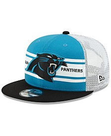 New Era Carolina Panthers Classic 77 Stripe Mesh 9FIFTY Cap