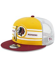 New Era Washington Redskins Classic 77 Stripe Mesh 9FIFTY Cap