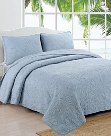 Estate Seaside 2 Piece Quilt Set, Twin