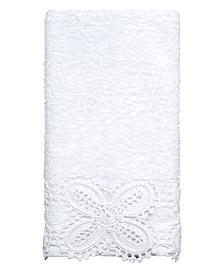 Linden Lace Fingertip Towel
