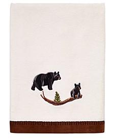 Black Bear Lodge Bath Towel