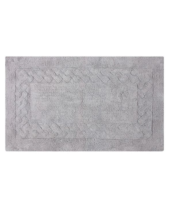 "Perthshire Platinum Collection Chain 24"" x 40"" Bath Rug"