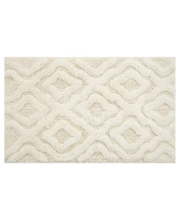 "Perthshire Platinum Collection Link 20"" x 30"" Bath Rug"