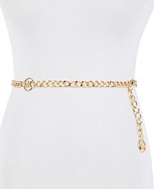 MK Logo Chain Belt