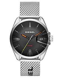 Men's MS9 Stainless Steel Mesh Bracelet Watch 43mm