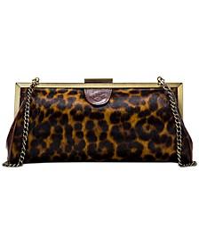 Leopard Athena Clutch