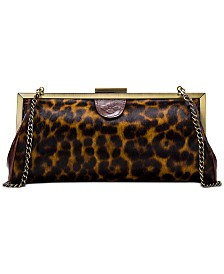 Patricia Nash Leopard Athena Clutch