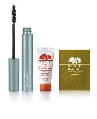 Receive a FREE Sample Trio with $75 Origins purchase