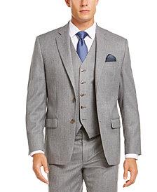 Lauren Ralph Lauren Men's Classic-Fit UltraFlex Stretch Light Gray Suit Separate Jacket