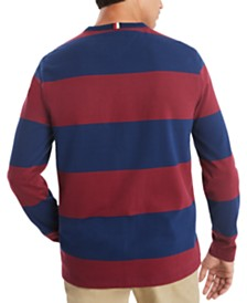 Tommy Hilfiger Men's Bold Rugby Long Sleeve T-Shirt, Created for Macy's