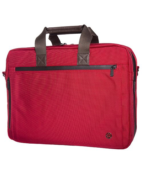 Token Lawrence Large Laptop Bag with Back Zipper