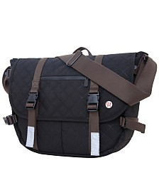 Token Quilted Lorimer Lite Messenger Bag