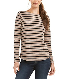 Heather Long-Sleeve Top, Created for Macy's