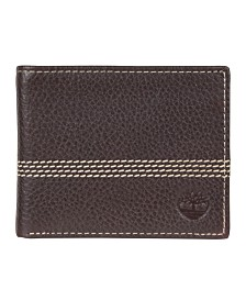 Timberland Milled Quad Stitch Passcase Wallet