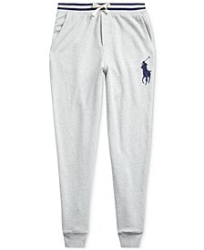 Big Boys Terry Cotton Joggers