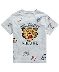 Toddler Boys Jersey Cotton T-Shirt