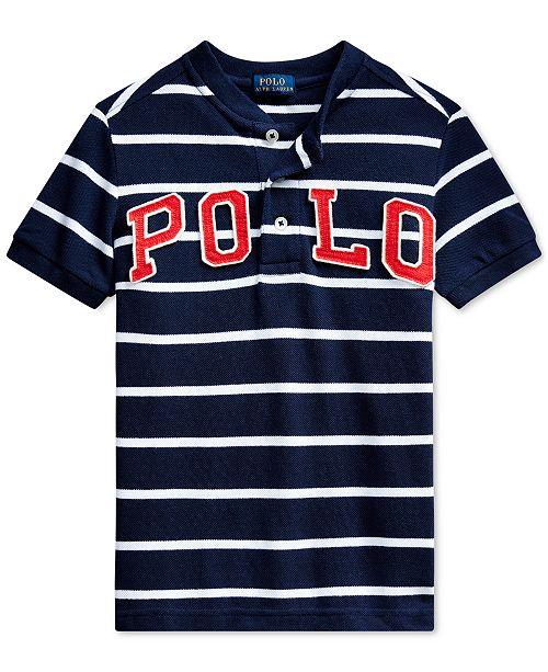 Polo Ralph Lauren Toddler Boys Henley T-Shirt