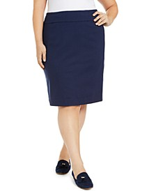 Plus Size Pencil Skirt, Created for Macy's