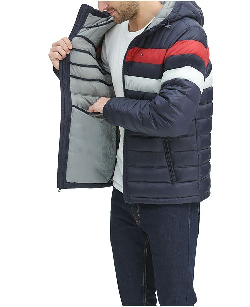 Image result for Men's Color Block Hooded Ski Coat, Created for Macy's