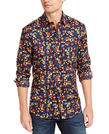 Men's Floral Print Shirt, Created for Macy's