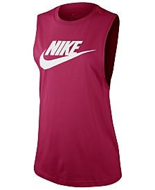 Nike Sportswear Essential Cotton Logo Tank Top