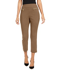 INC Zippered Skinny Pants, Created for Macy's