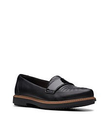 Clarks Collection Women's Raisie Arlie Platform Loafers