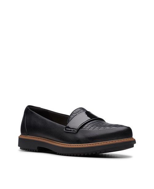 Clarks Collection Women's Raisie Arlie Platform Loafers