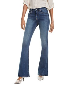 Holly High-Rise Flare-Leg Jeans