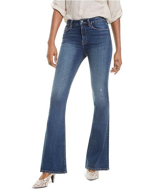 Hudson Jeans Holly High-Rise Flare-Leg Jeans