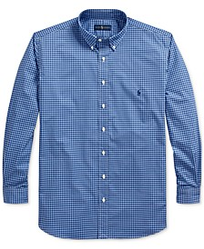 Men's Big & Tall Natural Stretch Poplin Sport Shirt