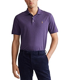 Men's Big & Tall Classic Fit Soft Touch Cotton Polo