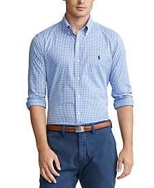 Polo Ralph Lauren Men's Classic Fit Performance Plaid Twill Shirt