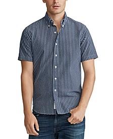 Men's Big & Tall Classic Fit P-Wing Oxford Shirt
