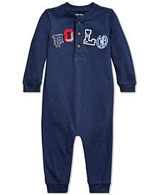Polo Ralph Lauren Baby Boys Mesh Polo Coverall