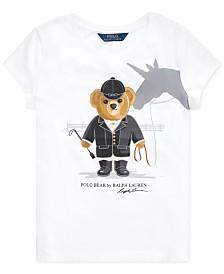 Polo Ralph Lauren Big Girls Jersey Cotton T-Shirt