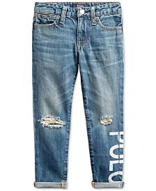 Polo Ralph Lauren Toddler Girls Astor Slim Boyfriend-Fit Jeans