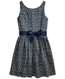 Big Girls Cotton Poplin Dress