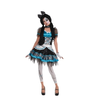 Shattered Doll Adult Women's Costume