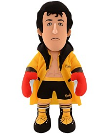 Bleacher Creatures Mgm Gold Robe Rocky Balboa Plush Figure