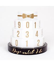 Wedding Cake Countdown Calendar