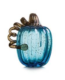 Glitzhome Glass Pumpkin